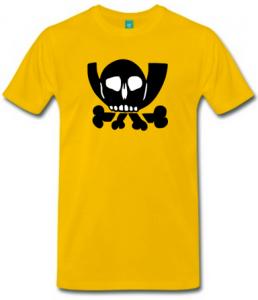 Posthorn-Skull