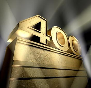 400 celebration monument